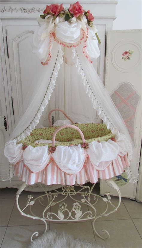 Marie Antoinette Bassinet For Little Girl S Nursery So Moving Baby From Moses Basket To Crib