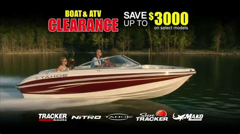 bass pro shop boat clearance bass pro shops tv commercial for tracker clearance sale