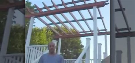 How To Build A Free Standing Wooden Pergola 171 Construction How To Build A Free Standing Pergola
