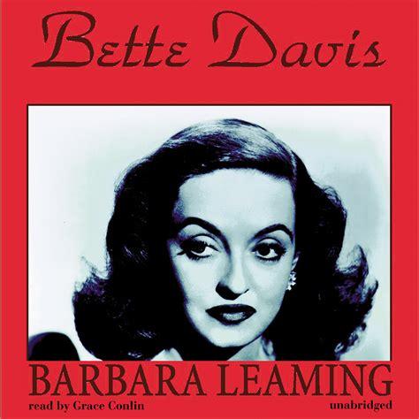 learn about bette davis biography bette davis audiobook listen instantly