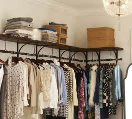 new york shelf and clothes rack modern closet storage