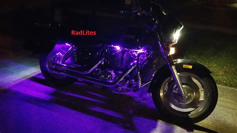 purple led lighting harley davidson engine lighting