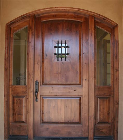 Knotty Alder Front Door Exterior Door 187 Knotty Alder Exterior Doors Inspiring