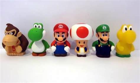 Diskon Figure Mario Bross Luigi lagoric museum mario bross vinyl figures 1 set isi 6