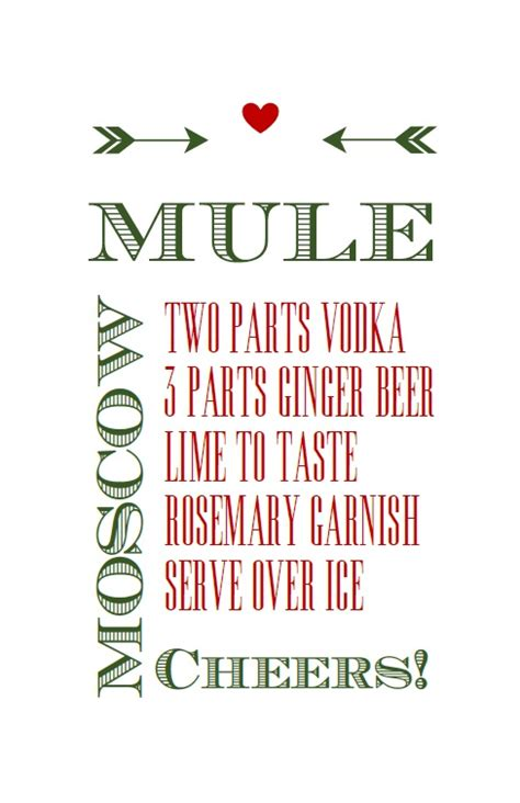 moscow mule kit and free printable betty blue events