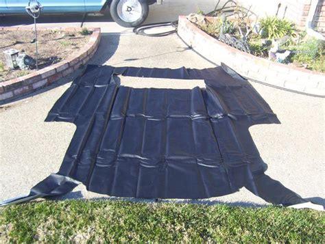 vinyl roof pattern sell 1970 1974 camaro black vinyl roof original style