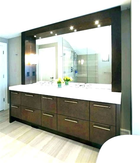 large mirrors for bathroom vanity large mirror