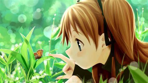 anime girl summer wallpaper download wallpaper 1920x1080 girl summer butterfly