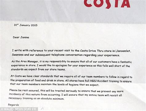 costa customer s horror after drinking latte mixed with