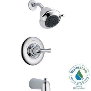 Delta 3 Handle Tub Shower Faucet by Delta Classic Single Handle 3 Spray Tub And Shower Faucet