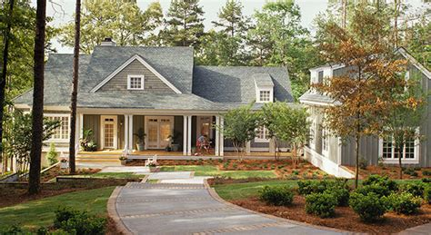Southern Living Lake House Plans | lakeside cottage william h phillips southern living