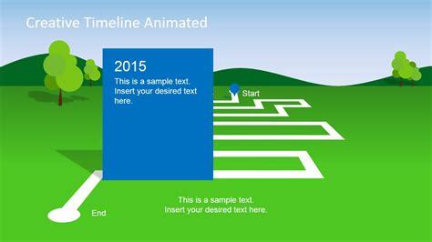 milestone chart templates powerpoint animated landscape powerpoint timeline slidemodel