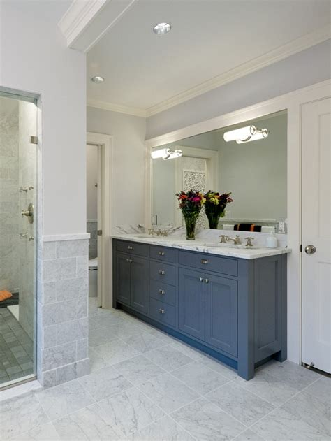 best blue traditional bathrooms ideas on pinterest blue dark blue traditional bathroom cabinetry and vanity