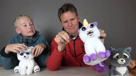 cutting open  face changing feisty pets unicorn