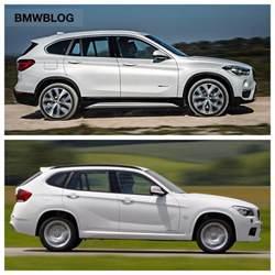 e84 bmw x1 vs 2016 bmw x1 f48 photo comparison