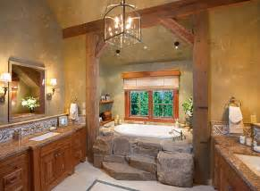 homey country rustic bathroom by lynette zambon amp carol