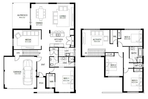 2 story home plans floor plan with loft on 2 story home plans pictureslog log