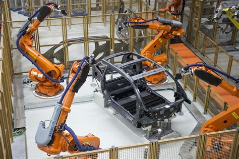 bmw factory robots why workers don t need to fear technological change