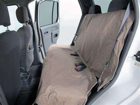 small bench seat with back canine covers econo plus seat protector bench seat w