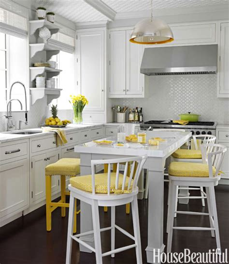 grey white yellow kitchen white and yellow kitchen design ideas