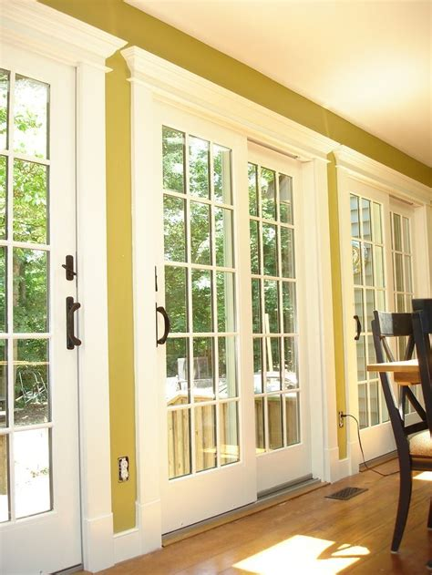 Patio Door Trim 25 Best Ideas About Replacement Windows On Pinterest Sliding Doors Andersen