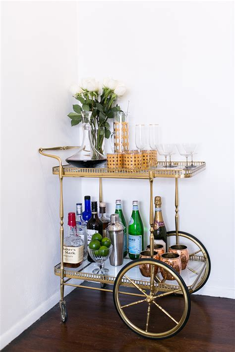 dining room cart the bar cart a stylish don draper staple to dress up