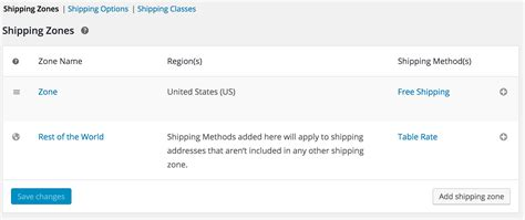 woocommerce table rate shipping woo pro