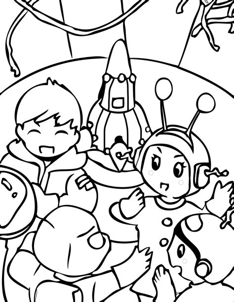 Outer Space Coloring Pages Coloring Pages Outer Space Coloring Pages