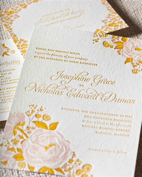 8 details to include when wording your wedding invitation martha stewart weddings