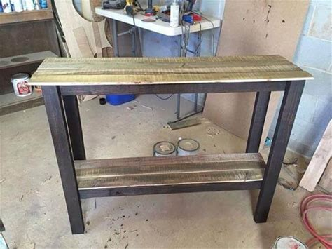 pallet sofa table pallet sofa table entryway foyer table pallet
