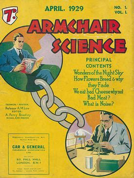 armchair scientist armchair science wikipedia
