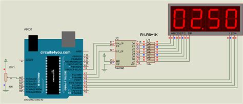 voltmeter in circuit diagram digital voltmeter using arduino circuits4you