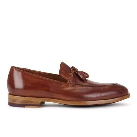 paul smith loafers paul smith shoes s conway leather tassle loafers