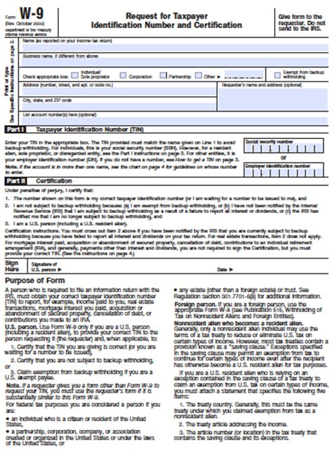 W9 Tax Form :: I Sell Sargent Steam Cleaners W 9 Form Fillable Printable 2016