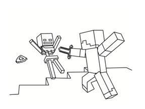 coloriage minecraft 20 mod 232 les 224 imprimer gratuitement