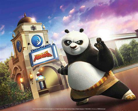 kung fu panda attraction set  open  universal