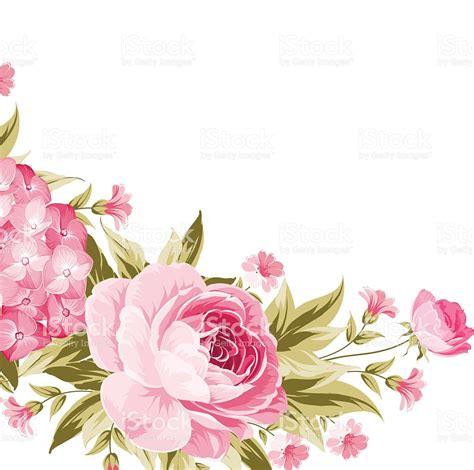 floral garland template stock vector art 614010530 istock