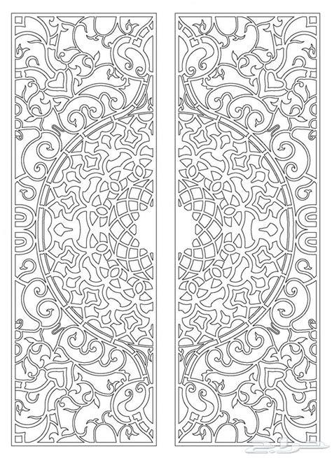 رسوم زخارف أبواب حديد واتس اب 0594685221 زخارف Pinterest Cnc Patterns And Art Patterns Ornament Template