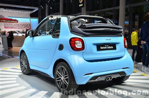 smart car 2016 2016 smart fortwo cabrio 2015 frankfurt motor show live