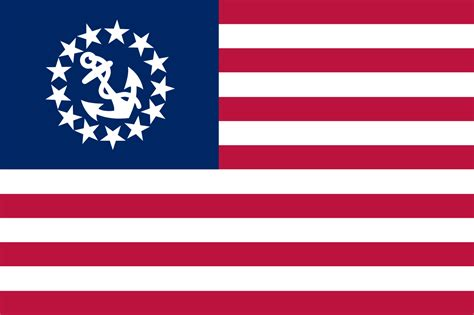 boat flags us file united states yacht flag svg wikipedia