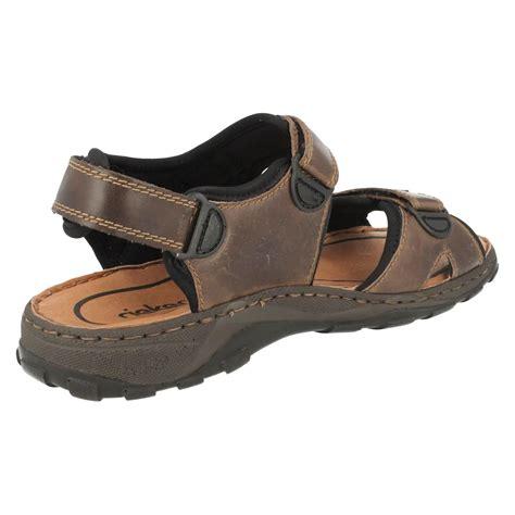 mens summer sandals mens rieker antistress summer sandals 26061 ebay