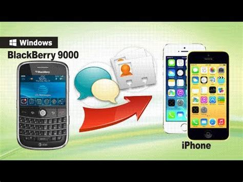 how to transfer contacts sms from blackberry 9000 to iphone 6s 6 5s 5c 5 4s 4