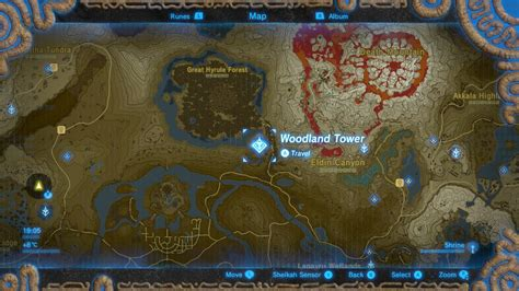 Legend Of The Breath Of The Map how to find the master sword in the legend of breath of the guide nintendo