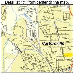 cartersville map 1313688