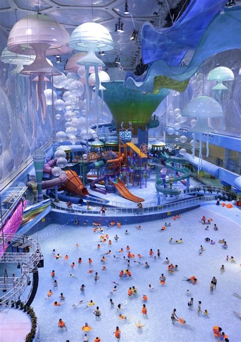 Go To Designer La Rok For At Livenattycom by Beijing S Water Cube Transformed Into Water Park 6 Pics