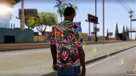 Tshirt Stiker Bomb sticker bomb t shirt for gta san andreas