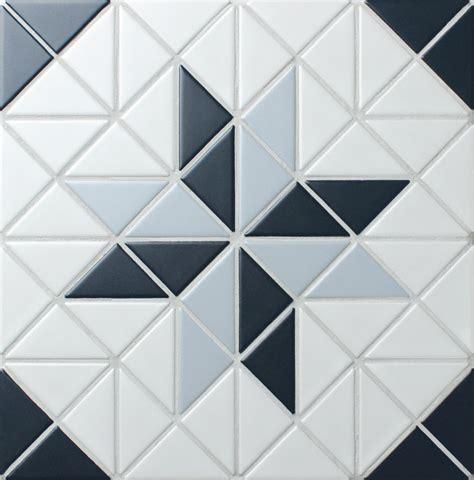 geometric pattern kitchen tiles blue mountain blossom 2 triangle geometric kitchen wall