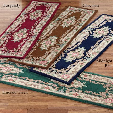 serena aubusson area rugs serena aubusson runner