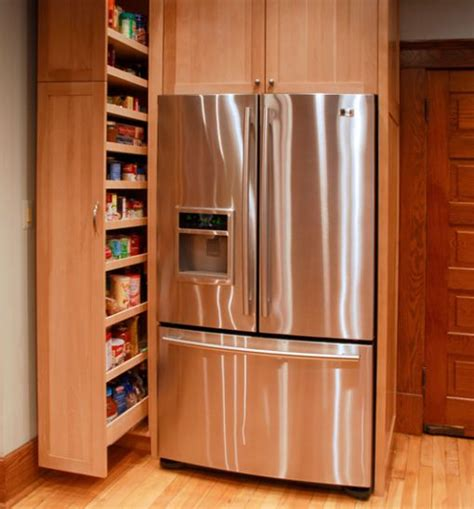 pull out storage for kitchen cabinets smart space saver for the kitchen pull out pantry cabinet