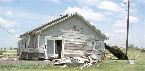 demolishing a house demolishing a house using an m35 truck